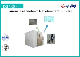Stepping Type Dust Test Chamber , Dust Testing Equipment 380V 50HZ